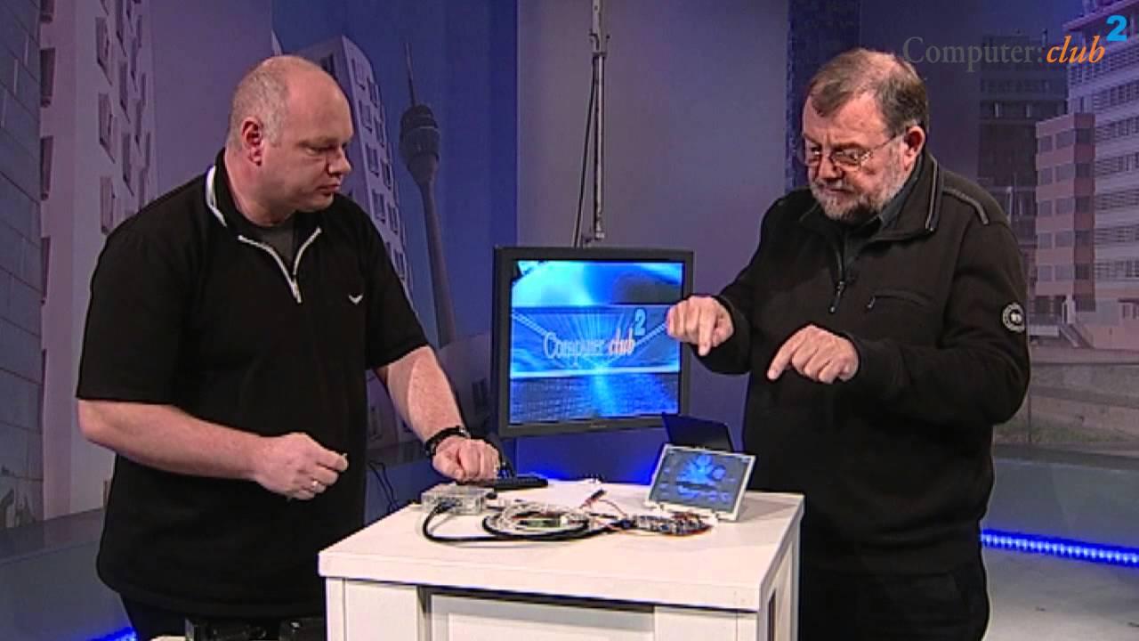Raspberry Pi mit <b>Touch</b>-Screen-Display - YouTube