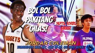 BOL BOL NAG-PAKITANG GILAS SA NBA SCRIMMAGE! TRAINER NI KAI🇵🇭SOTTO BILIB NA BILIB KAY BOL BOL!