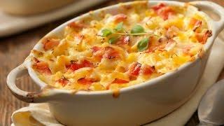 Как приготовить макароны с сыром по американски (Mac and Cheese)видео рецепт