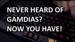 GAMDIAS HERMES Gaming Keyboard Unboxing & Overview