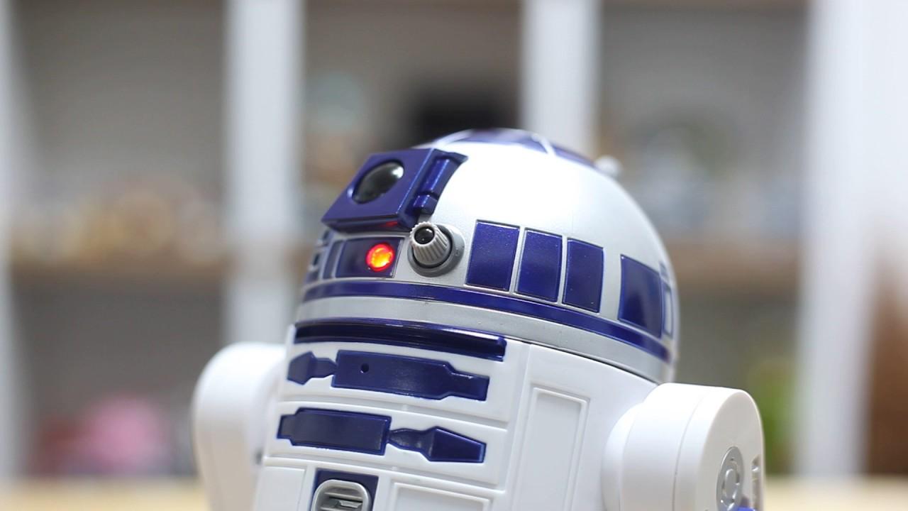 04452b8375fbc hasbro  Smart R2-D2 Switch On - YouTube