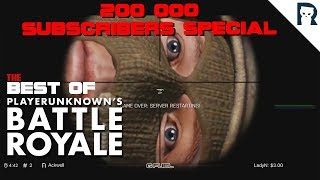 Best of ArmA 3 Battle Royale - 200k subs special