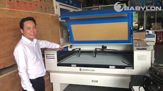 Tất tần tật hướng dẫn lắp đặt máy khắc laser 1390 BABYLON CNC