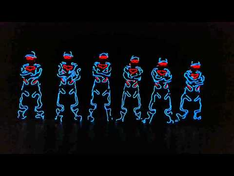 EL Light TRON Dance (STUDIO HD VERSION) by RUFFNECKZ ft Hyperstylez | Malaysia