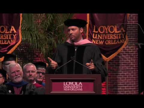 Harry Connick Jr. Loyola University New Orleans Commencement ...