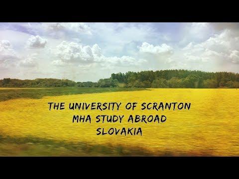 MHA Study Abroad 2017 - Slovakia