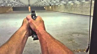 Triggering Speed practice at NRA range 2 May 2016