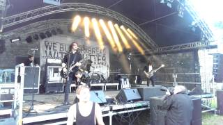 We Butter The Bread With Butter - Kind im Brunnen (live @ Die Festung rockt 2014/Kronach/31.05.2014)