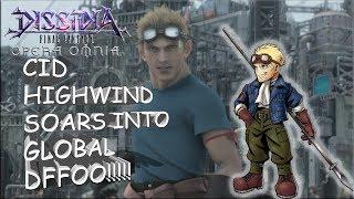 Dissidia Final Fantasy: Opera Omnia CID HIGHWIND SOARS INTO GLOBAL DFFOO!!!