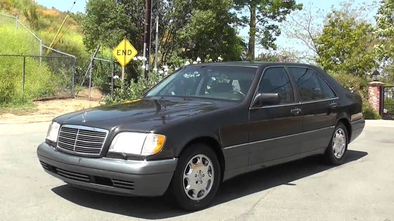 1995 mercedes benz s500 w140 s 320 420 500 600 for sale saloon 3999 [ 1280 x 720 Pixel ]