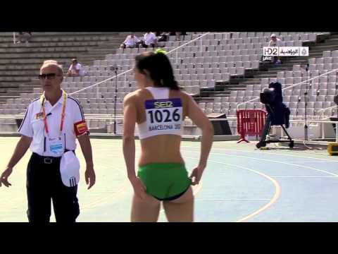 Michelle Jenneke's Sexy Warm Up Dance, Olympic Hurdler