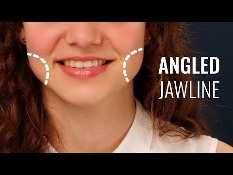 How to contour an angled jawline - YouTube