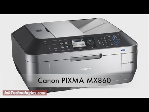 canon pixma mx860 instuctional video youtube rh youtube com Canon Printers Canon MX860 Print Head