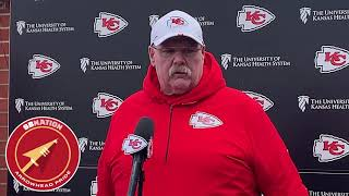 Andy Reid makes final comments before Broncos game (NFL Week 15 2019)