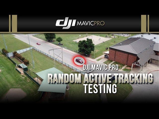 DJI Mavic Pro / Random Active Track Testing