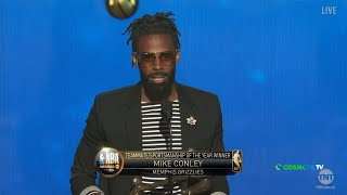 Ο Mike Conley Jr. κέρδισε το βραβείο Teammate & Sportsmanship - NBA Awards | COSMOTE SPORT