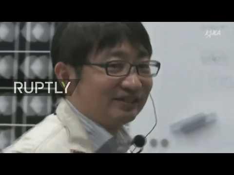 LIVE: Japanese probe investigating solar system origins lands on asteroid