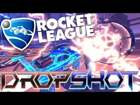 NEW DROPSHOT GAME!! - ROCKET LEAGUE!! W/AshDubh & Speedy