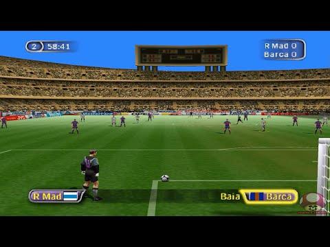 Gameplay: Fifa 98 (Nintendo 64) - Real Madrid X Barcelona
