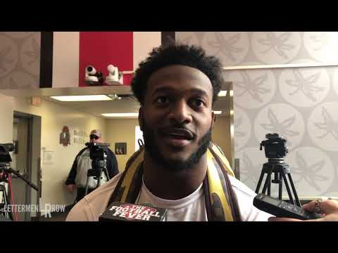K.J. Hill: Ohio State Wide receiver after Buckeyes 2019 spring football game