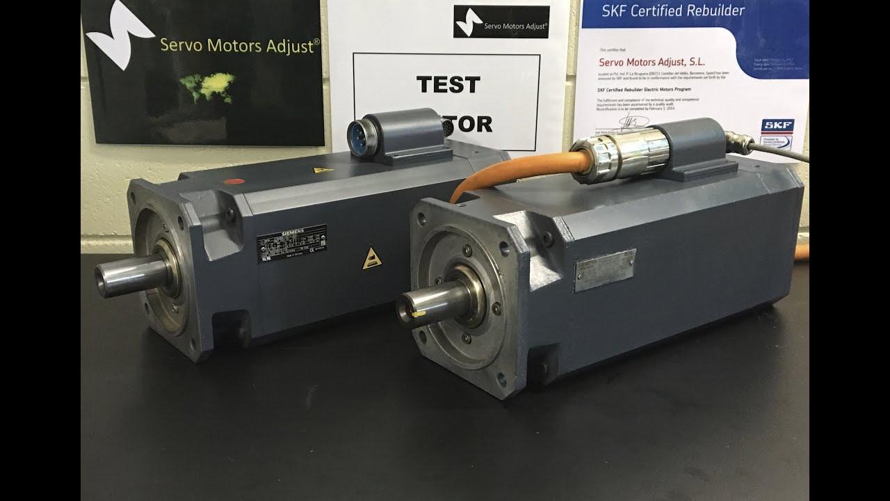 Siemens Type 1ft6086 1af71 3eh Servo Motor Test Servo