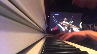 cover amatorski wymyśliłem ciebie a zaucha zaimprowizowany w 2 tygodnie po kupnie pianina