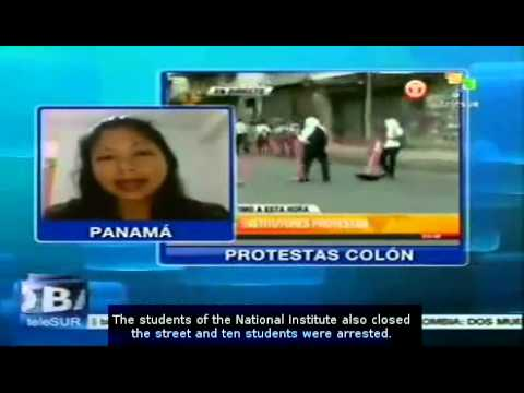 Panama: growing protest against Law 72