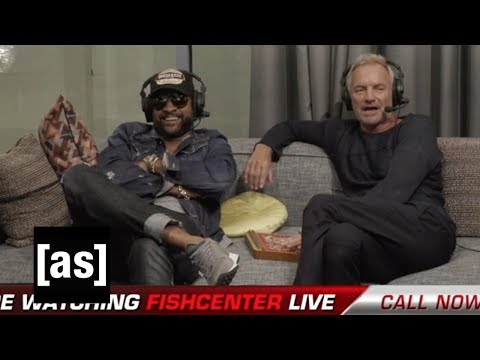 Sting and Shaggy | FishCenter | Adult Swim