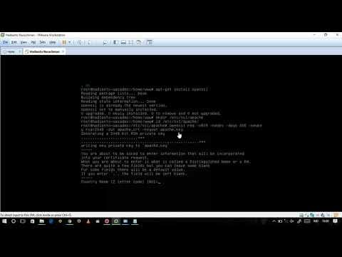 Konfigurasi HTTPS (hyper text transfer protocol secure) pada Server Debian 7.8.0 ..
