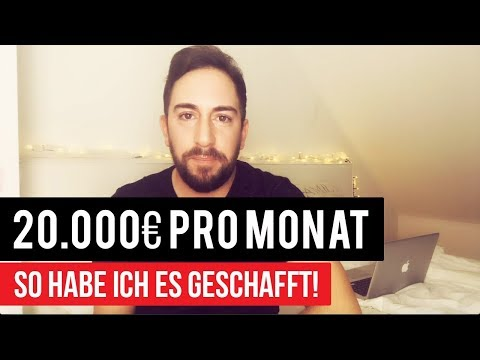 20.000€ pro Monat - So habe ich es geschafft (eBook-Business)