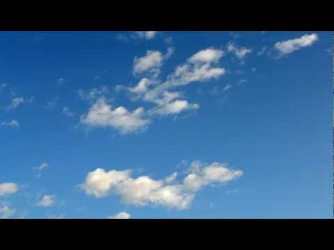 Blue Sky with clouds- Free footage