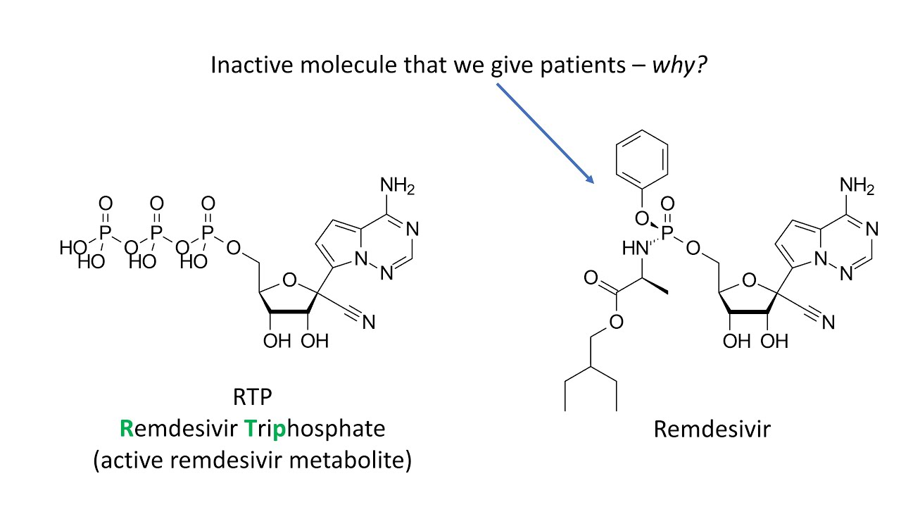 Prodrugs - Why we take inactive forms of certain drugs ...