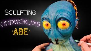 Sculpting Oddworld's Abe - Timelapse - Soulstorm