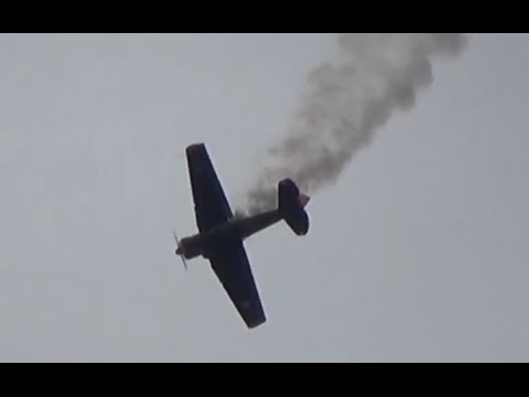 North American AT-6 at ILA Air Show 2014 *WATCH*