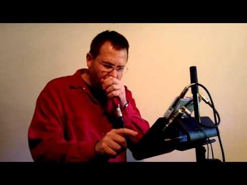 "IRISH HARMONICA: ""The Corner House"" with Live Looping by Brendan Power"