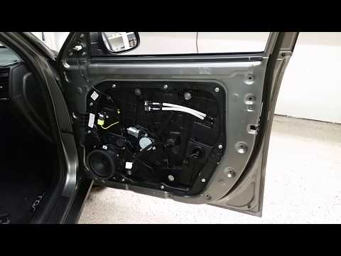 2014 To 2019 Kia Soul - Metal Door Frame - Plastic Interior Door Panel Removed To Upgrade Speaker