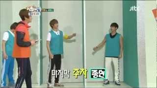 120609 Jonghyun, Charades at SHINHWA TV