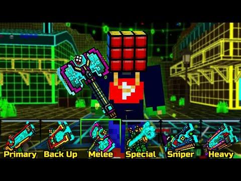 ALL CUBIC SET Pixel Gun 3D Clan Fort Siege