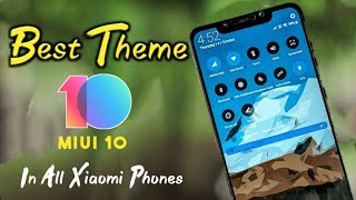 Best Android P White  MIUI 10 Theme In 2018 || MI Phones Themes