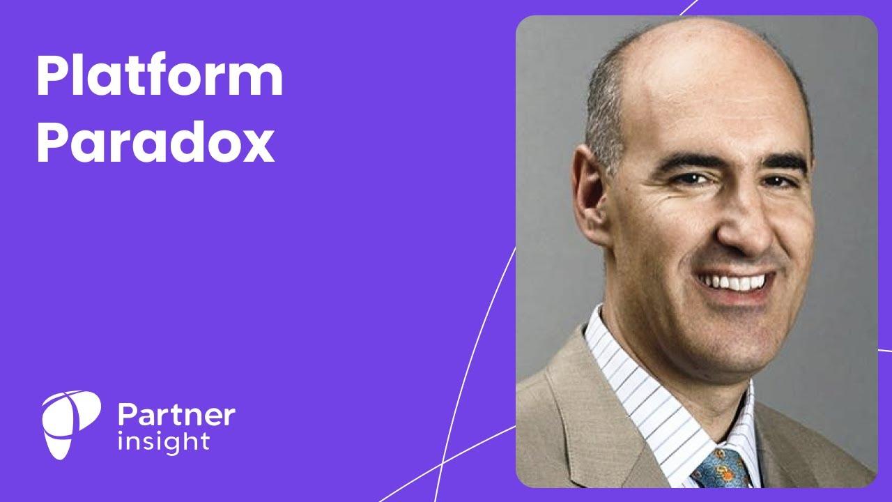 """The Platform Paradox"" with professor Mauro F. Guillén"
