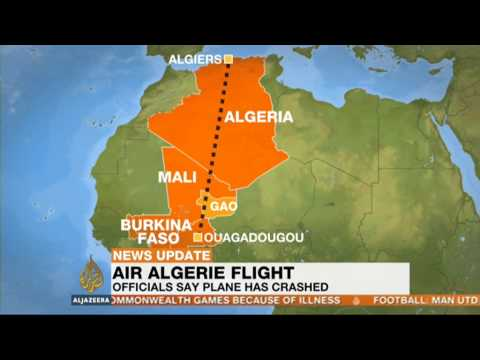 Crash of an Algerian plane ( news)
