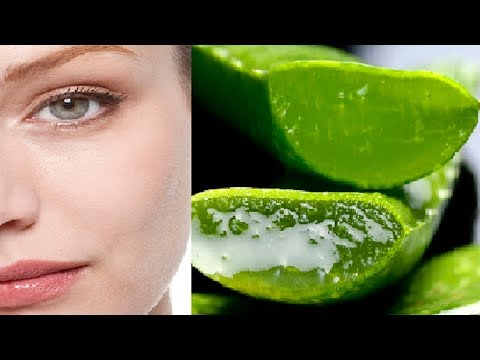 How to Get  clear, glowing, spotless skin tone Using Aloe vera gel at Home