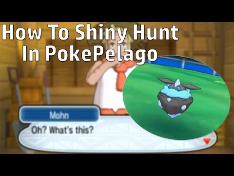 HOW TO SHINY HUNT IN POKEPELAGO! +Shiny Carbink Reaction!