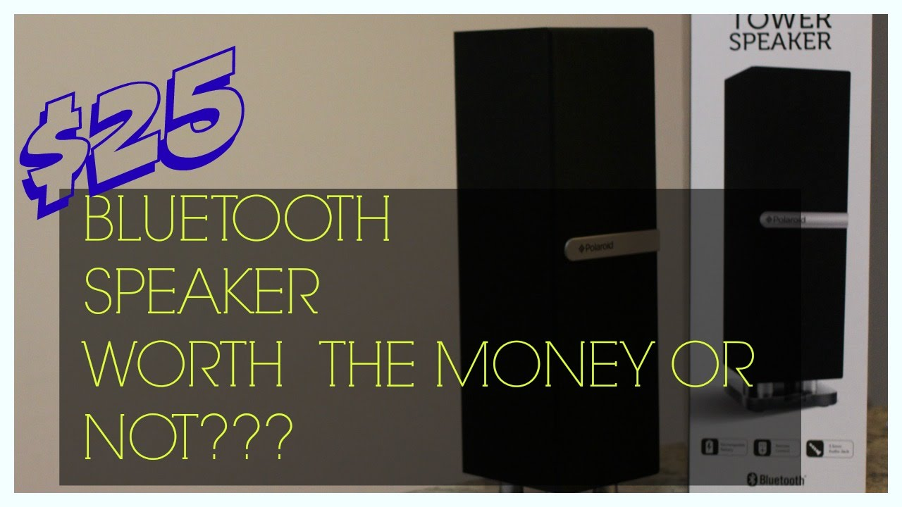 maxresdefault $25 poloroid mini tower speaker review & tutorial youtube  at bayanpartner.co