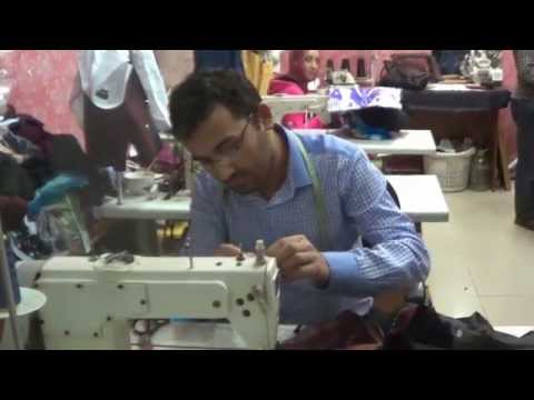 Sutara Arian in Tajikistan Tailors Shop
