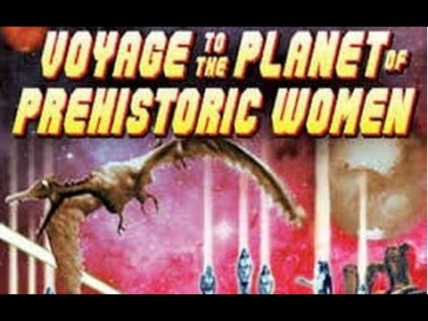 Voyage To The Planet Of Prehistoric Women Full Movie | Sci Fi | Mamie Van Doren, Mary Marr,
