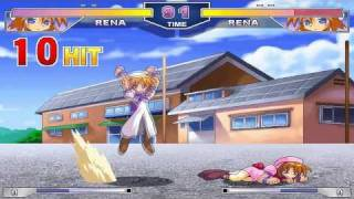 Higurashi Battle Colosseum [ひぐらしバトル頃シアム] Game Sample - PC/Doujin