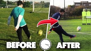 HOW I BECAME CRISTIANO RONALDO IN 1 YEAR!!