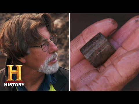 The Curse of Oak Island: STRANGEST ITEM EVER DISCOVERED (Season 8) | History