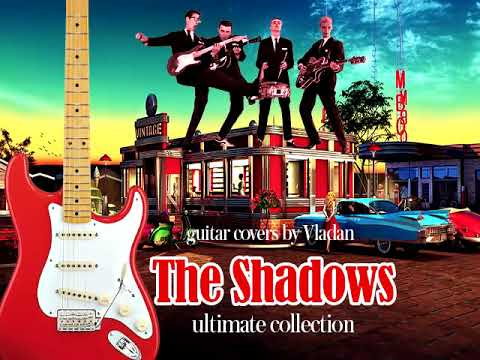 The Shadows Ultimate Mix Guitar Hits - Best of Hank Marvin and The Shadows High Quality Audio !